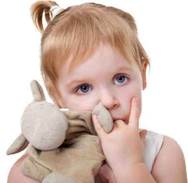 Bite Dental advises to discourage thumb-sucking in children before its too late. Prolonged thumb-sucking can harm teeth development.