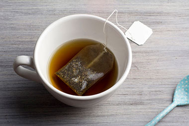 Damp tea bags can provide relief to mouth ulcers