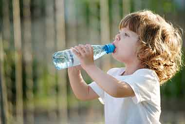 drinking water benefits oral health