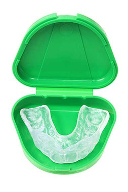 Mouthguards help protect your teeth especially during sports